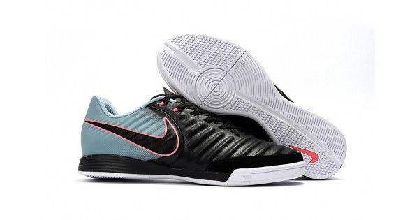 5521930a955 Botas De Futbol Sala Nike Tiempo Ligera IV IC Negras Grises Online ...