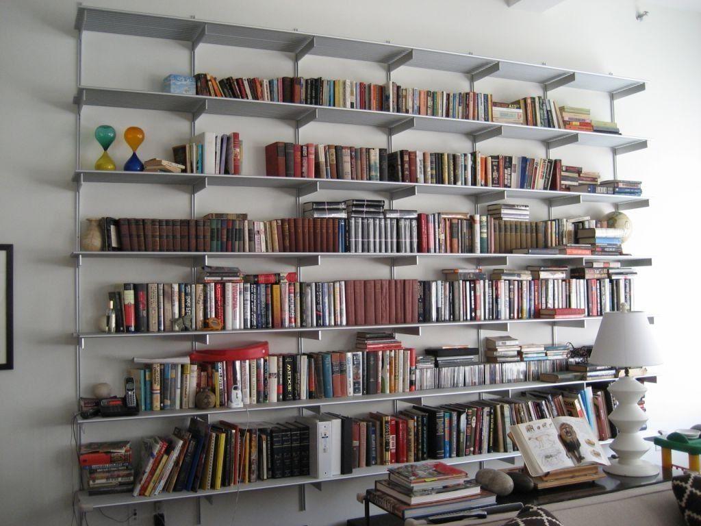 Wall Mounted Bookshelves Corner Wall And Creative Walls On Pinterest Wall Mounted Bookshelves Wall Bookshelves Aluminum Shelves