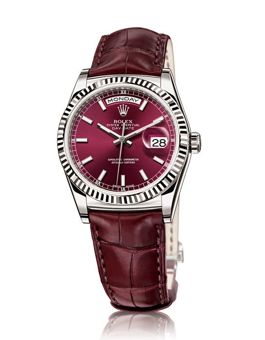 Bâle horlogerie Baselworld 2013 montre Rolex Oyster Perpetual Day-Date
