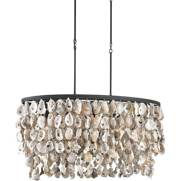 Currey Company Stillwater Chandelier 1 270 Liked On Polyvore Featuring Home Lighting Ceiling Lights And Oyster