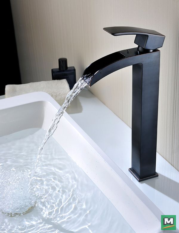 The Tuscany® Free Fall Single-Handle Vessel Faucet will lend a ...
