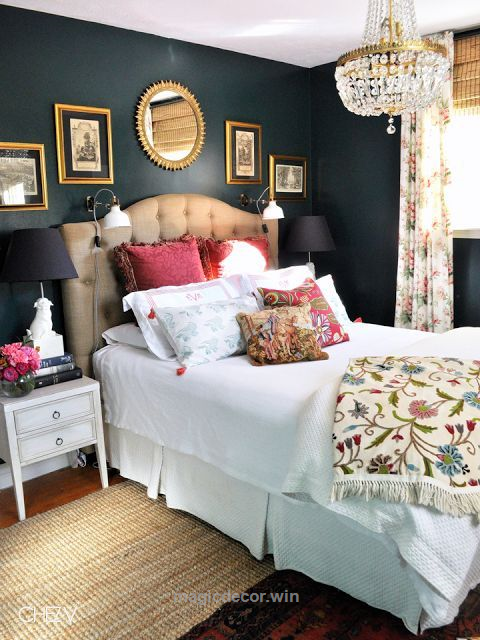 I 39 m usually a light paint color type of gal but i am - What type of paint to use in bedroom ...