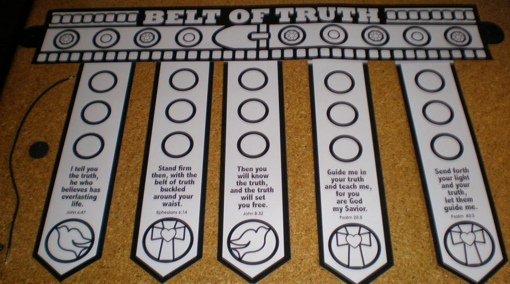 Belt Of Truth Craft Template Colour Your Own Belt Belt Of Truth Craft Template Colour Your Own Belt Armor Of God Armor Of God Lesson Bible School Crafts
