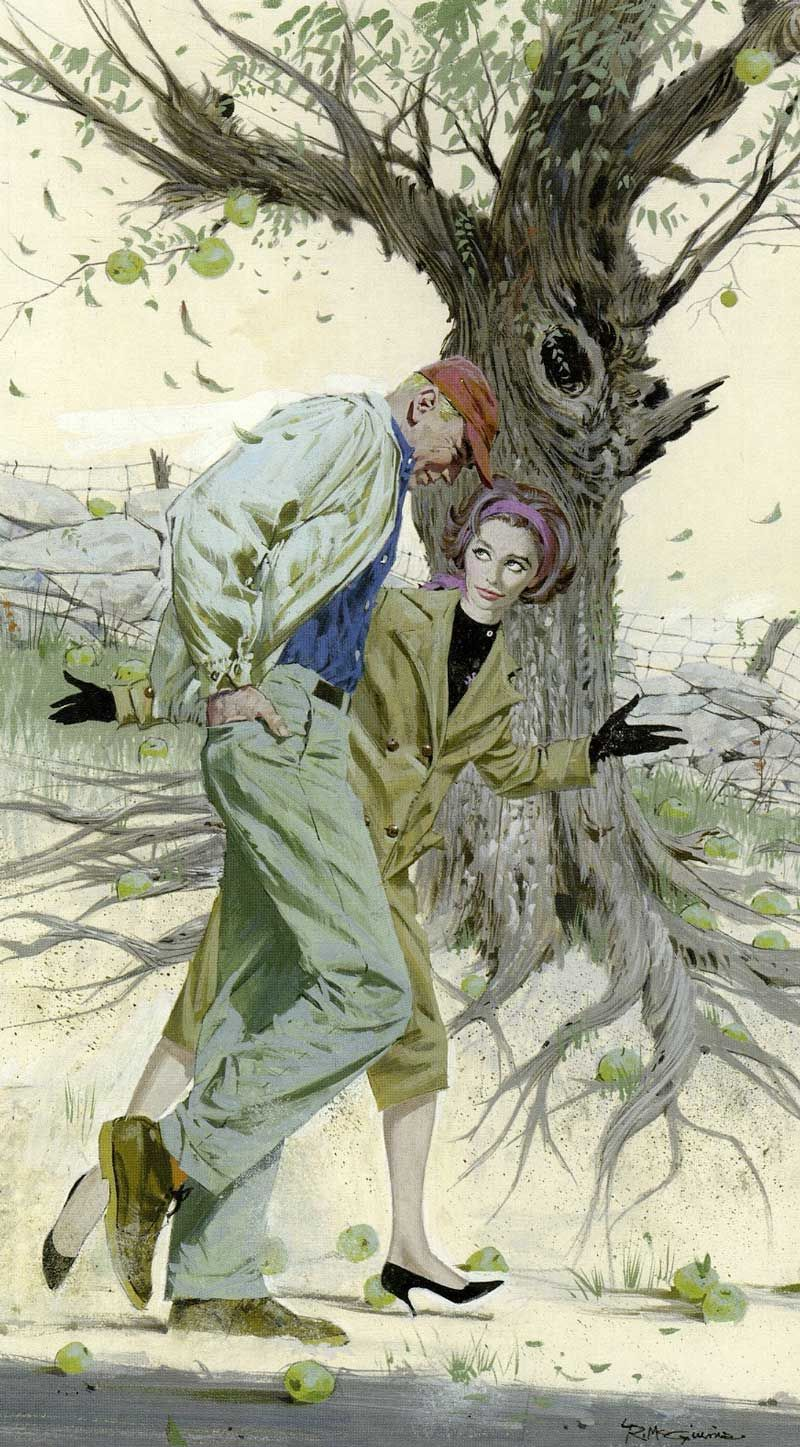 Robert E. McGinnis : Original Illustration Artwork For Sale