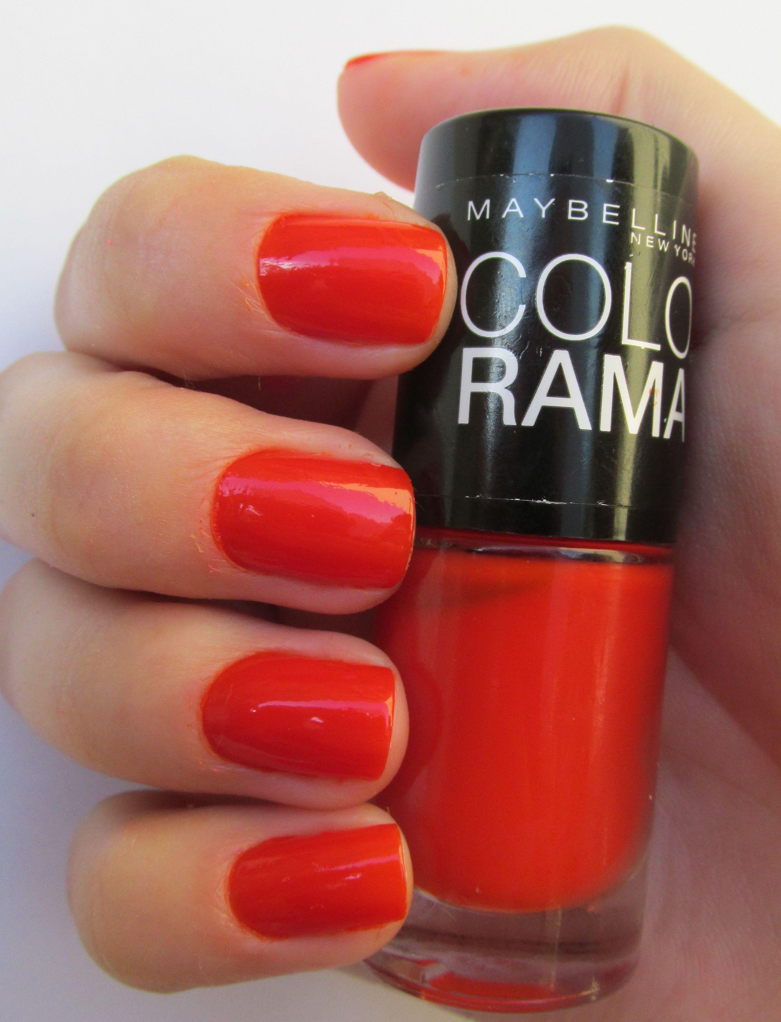Esmalte Maybelline New York Color Show NAIL LACQUER – 341 Orange ...