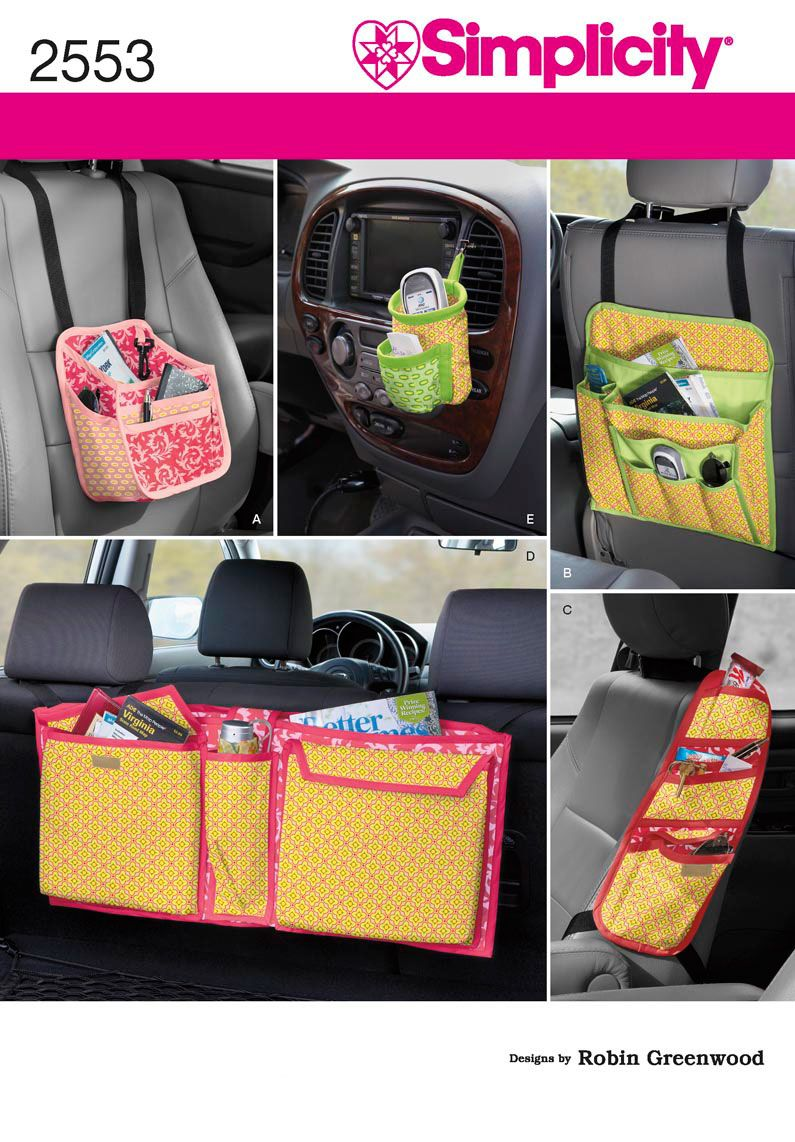 2553 crafts crafts car organizers tailored for baby toddler teen and office