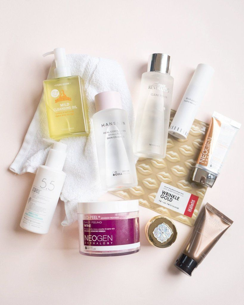 10 Step Korean Skin Care Routine Set For Dry Skin Type In 2020 Skin Care Routine Steps Korean Skincare Routine Diy Skin Care