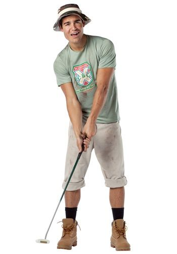 9509d576 Play the role of Bill Murray's Caddyshack character with this Carl Spackler  costume! Make it your business to get rid of the varmint gophers from the  golf ...