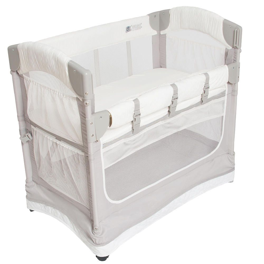 The Arm S Reach Mini Co Sleeper Bedside Bassinet Is A Unique