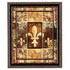 Fleur De Lis Wall Art/home Decor