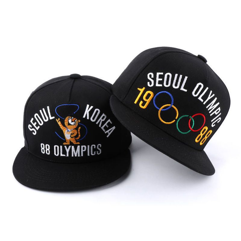 d5ff90e2e71 Dt70 Kpop 88 Seoul Olympic Adjustable Good-Boy Snapback Baseball Cap Hip-Hop  Hat