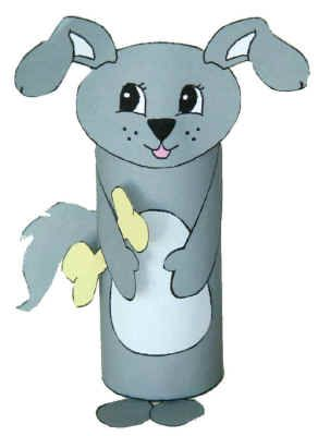 dltks crafts for kids another choice of the dog toilet paper roll craft - Dltk Crafts For Kids