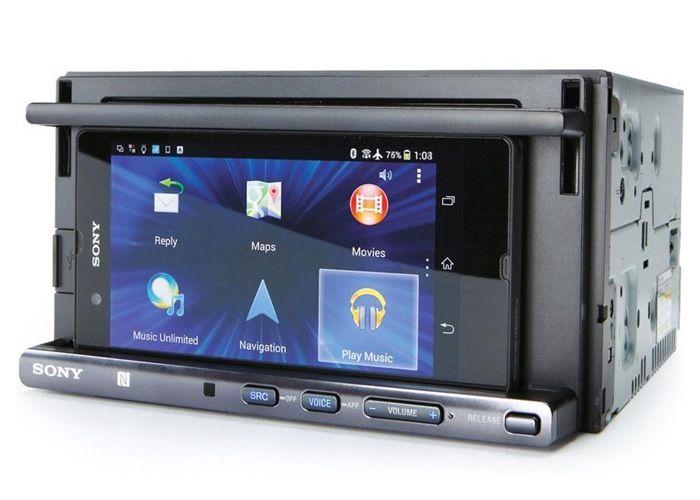 Sony Xspn1bt Car Stereo Smartphone Dock Now Available For 250 Car Stereo Smartphone Smartphone Gadget