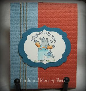 Cards and More by Sheri: Countdown to Word Card Making Day - Day 6