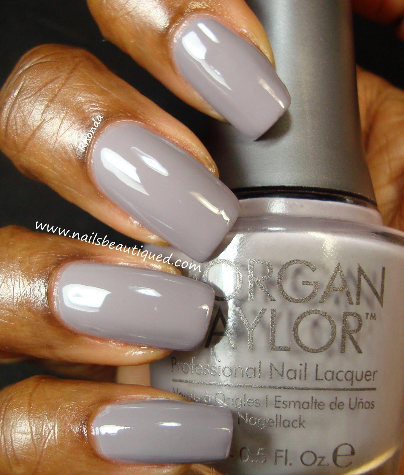 Morgan Taylor Nail Lacquer, Dress Code | Nails Beautiqued | Nails ...