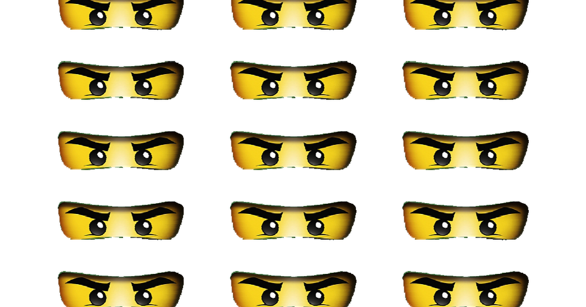 picture regarding Printable Ninjago Eyes identify Ninjago Eyes Printable Ninjago within 2019 Ninja birthday