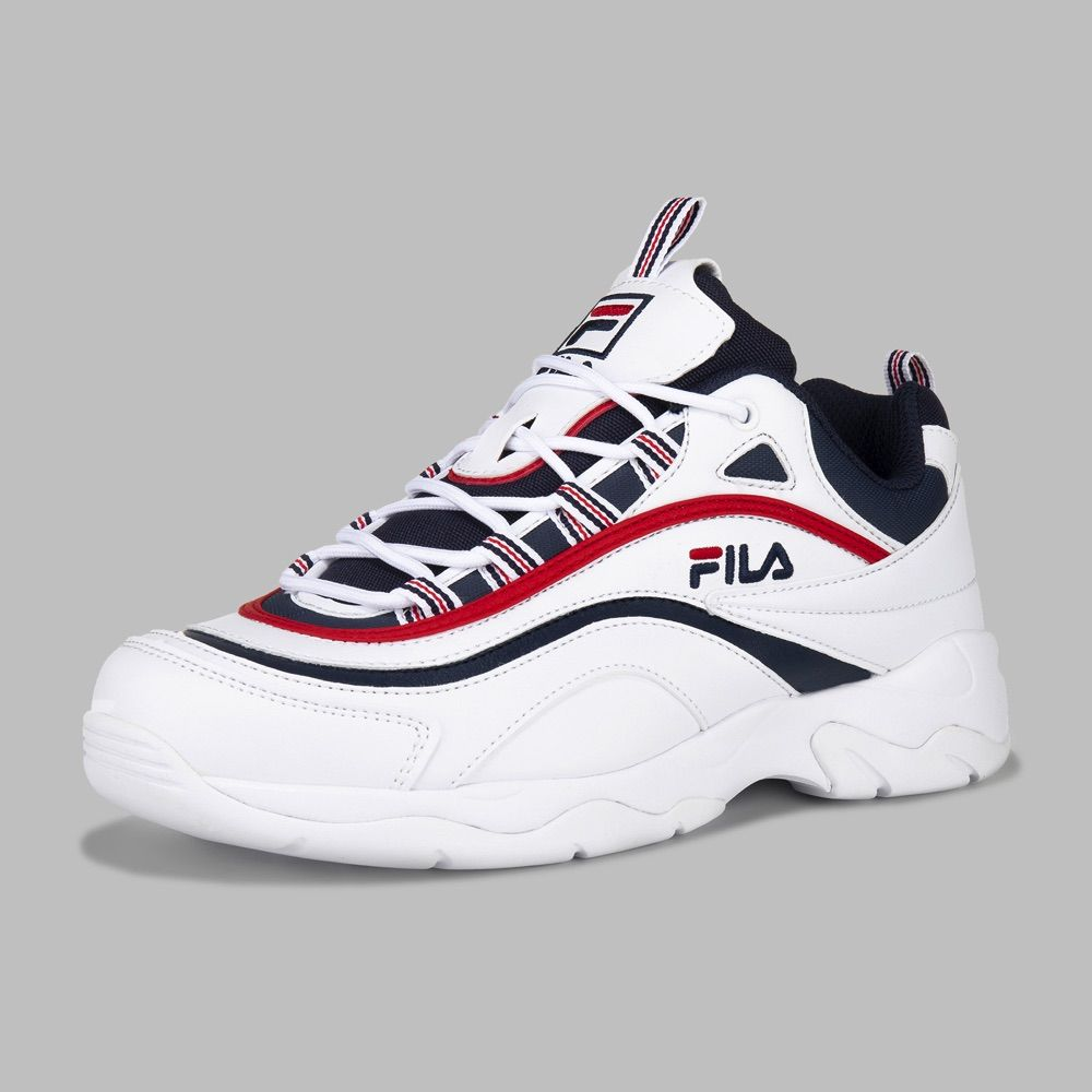Tenis Fila Ray Hombre en 2020 | Zapatos tenis para mujer ...
