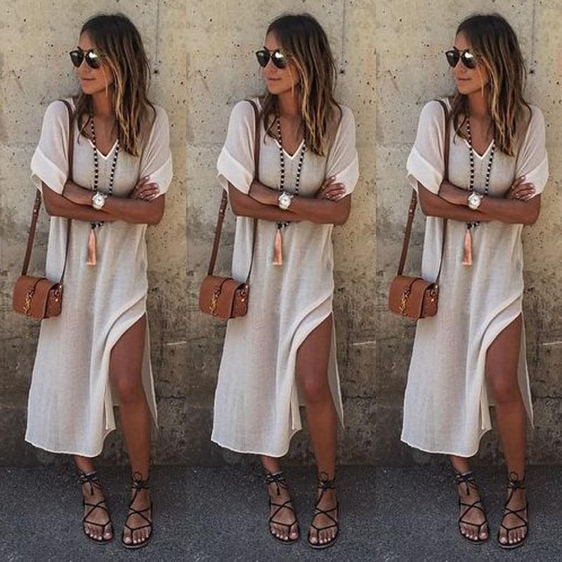 Hippie Boho Womens Summer Evening Cocktail Party Beach Long Maxi - hippies vestimenta