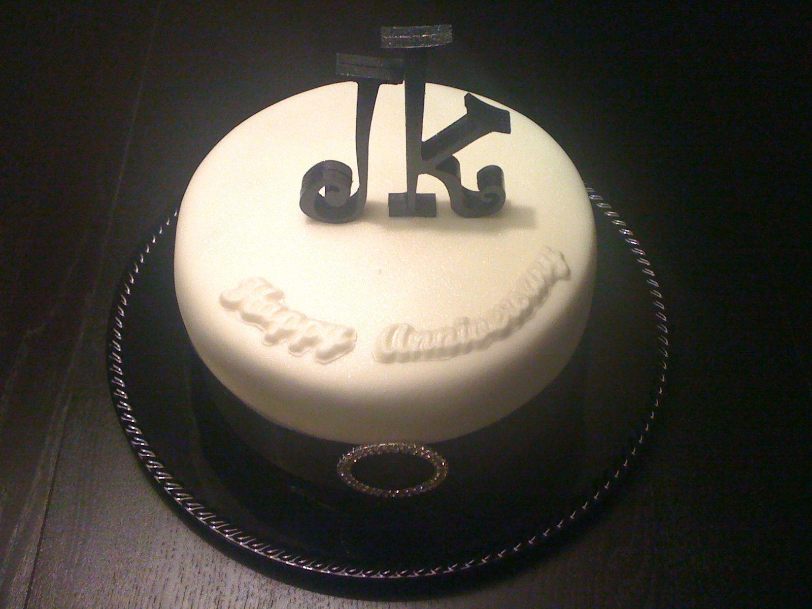Anniversary cake my cakes pinterest cake