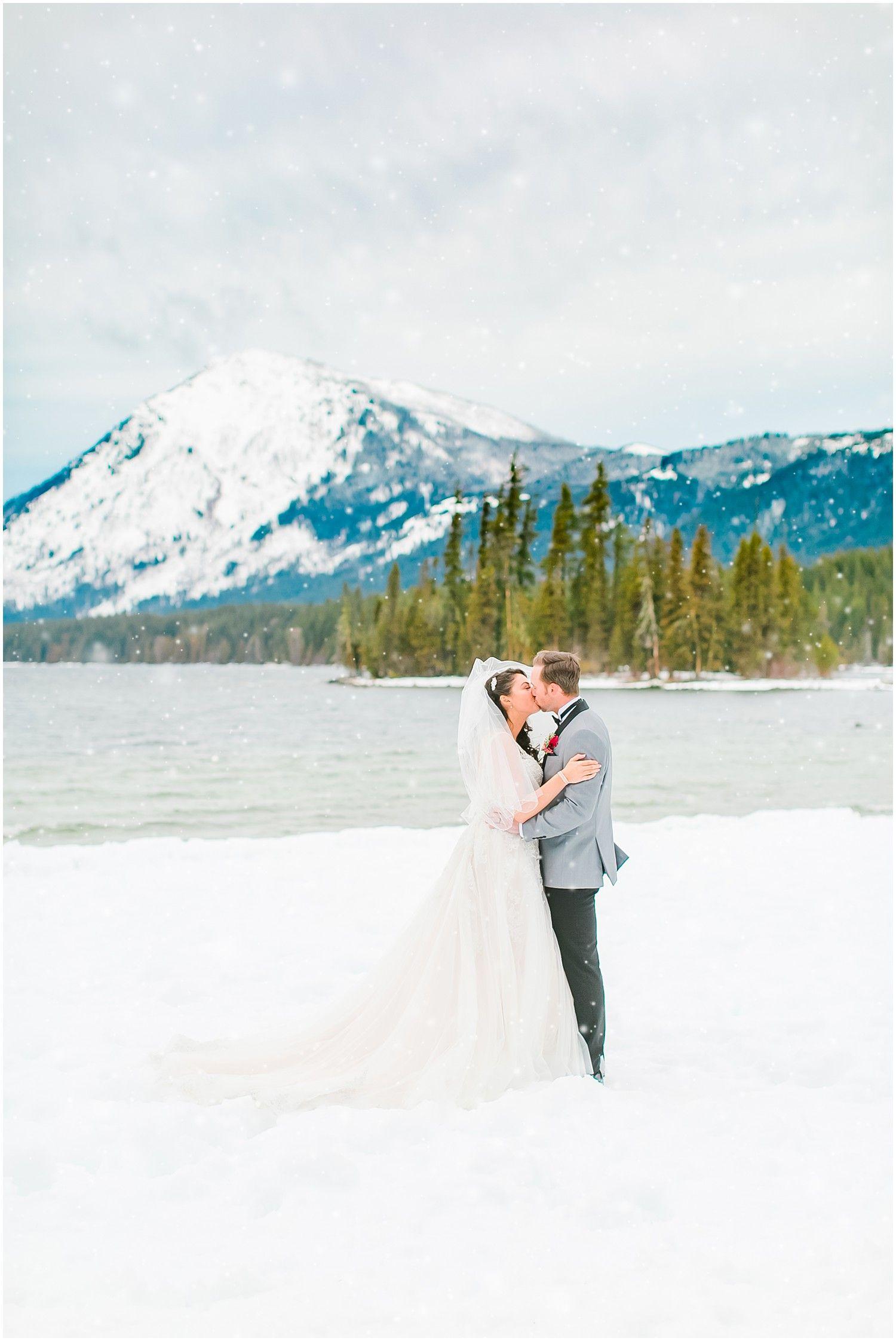 Jake Allysa's Winter Mountain Springs Lodge Wedding Snowy: Winter Wedding Venue Leavenworth At Websimilar.org