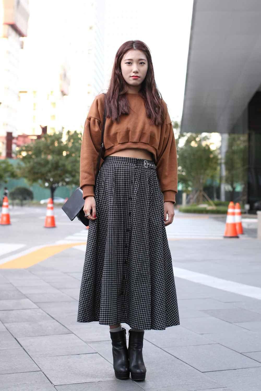 South Korea Street Style - Seoul Fashion Week  Korea street style