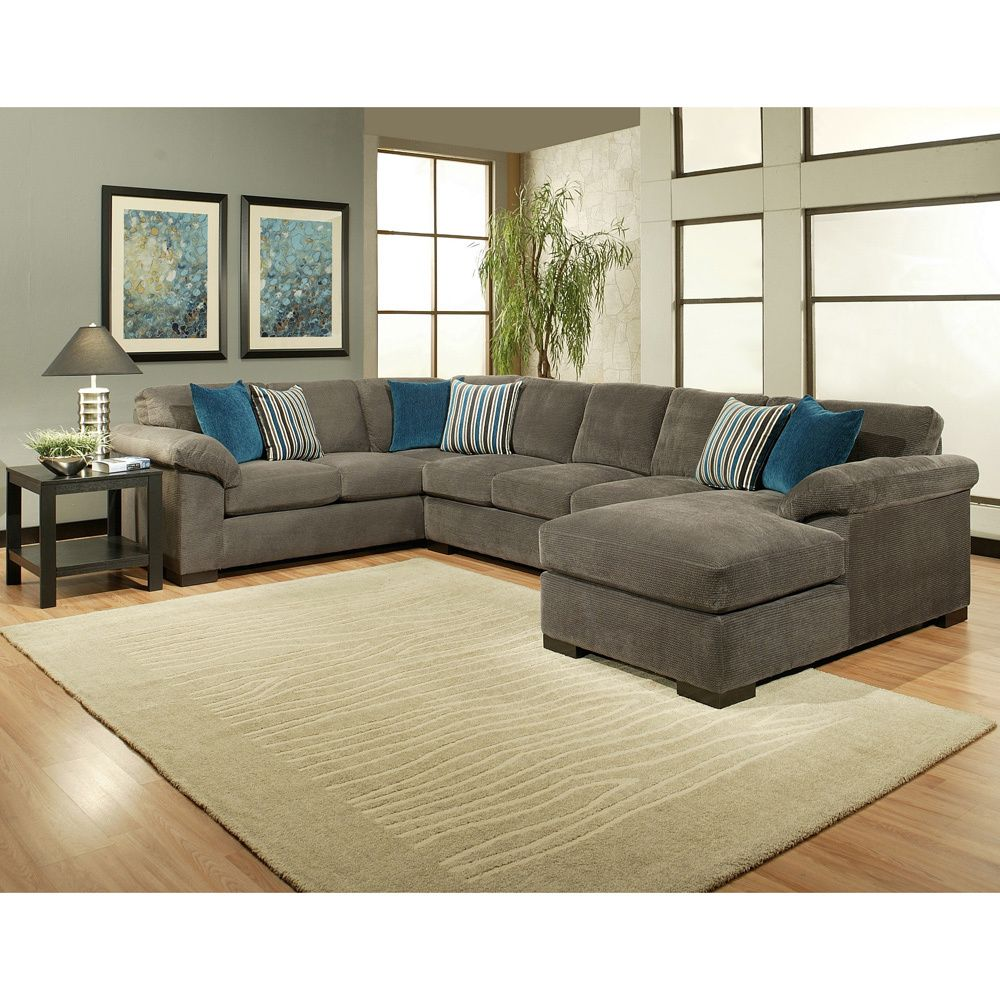 Sealy Leather Sofa: Furniture Of America Fiercely 3-piece Micro-Denier Flannel