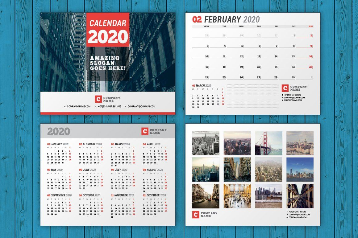 Wall Calendar 2020 Wc037 20 Wall Calendar Calendar 2020 Calender Design