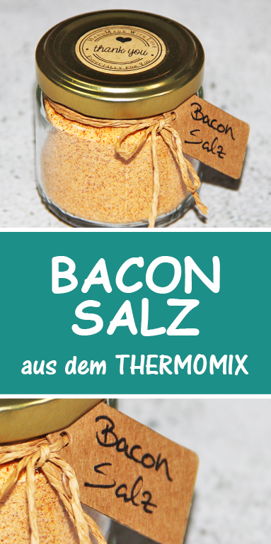 Photo of Bacon salt from the Thermomix. Great gift idea from the kitchen. Super easy.
