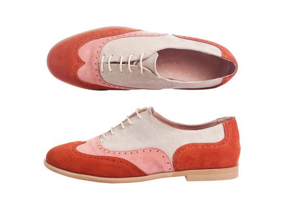 4dd527368c3a Three color mens oxford shoe, leather shoes, oxfords for men ,orange,pink,Beige