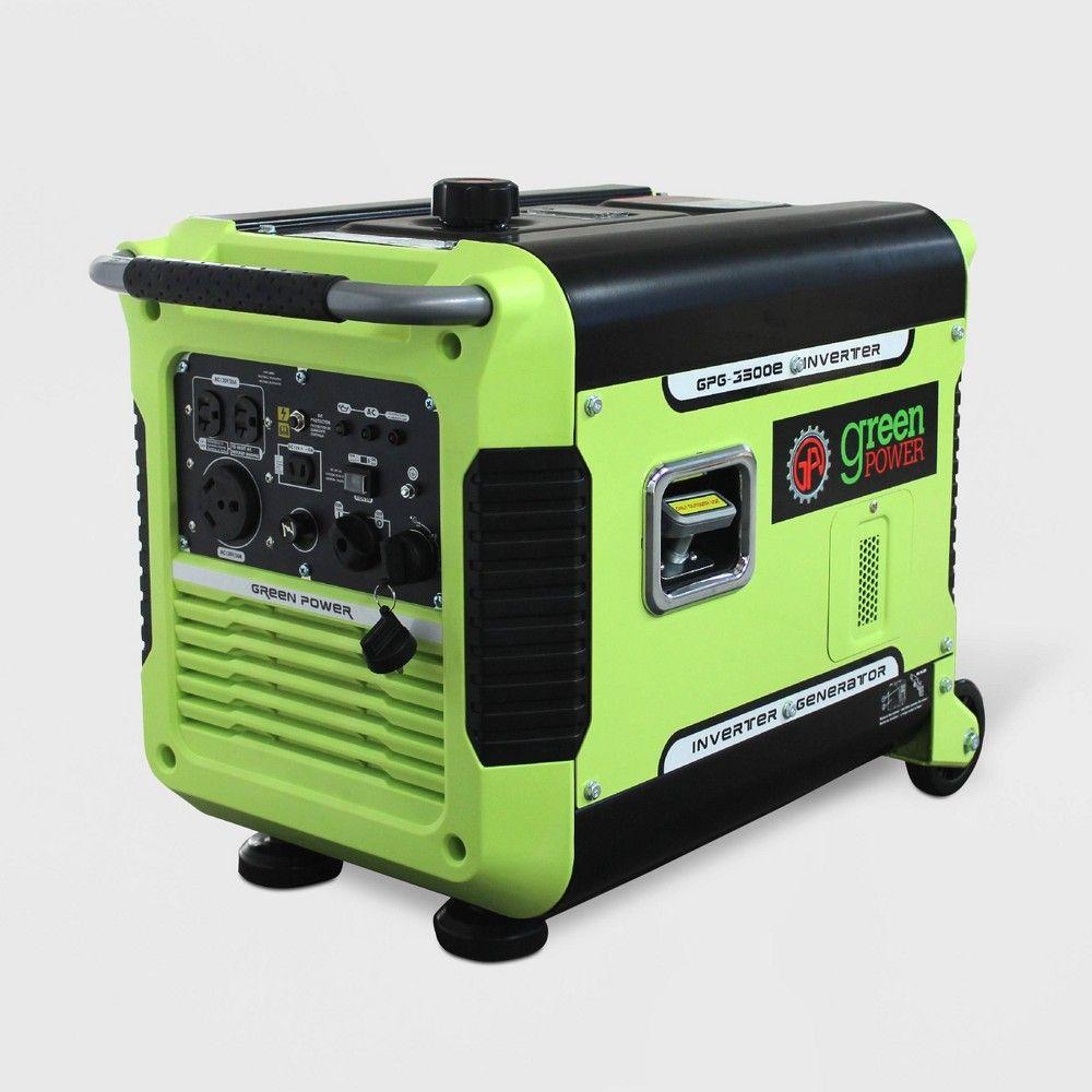 3500w Inverter Generator Green Green Power With Images Portable Inverter Generator Inverter Generator Green Power