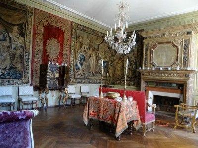 48- Château de Ravel, Antichambre ou Salle d\u0027attente Couverte de