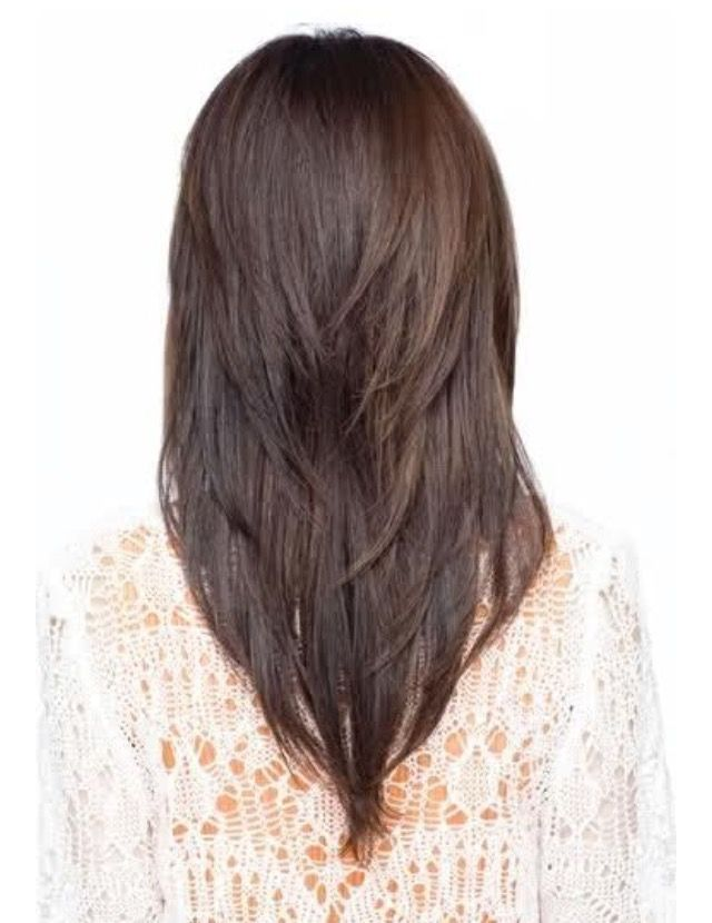 Low Maintenance Layered Long Straight Hairstyles 20