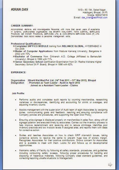 beautiful cv templates Sample Template Example ofExcellent ...
