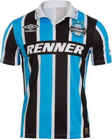 Gremio Launches Commemorative Kit for 20th Anniversary of Copa Libertadores  Win - Footy Headlines 7c57ac841e936