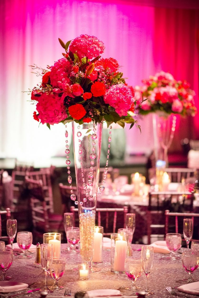 A La Carte Pavilion Wedding - Pink Bling Tampa Wedding - Tampa ...