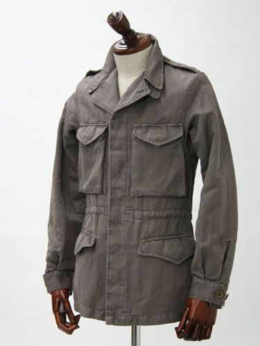 1da6a7355d316 sartorialdoctrine: Nice M65 Jacket from Boglioli, perfect for the chilly  autumn mornings. Field coat.