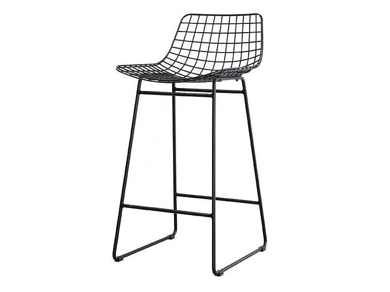 Metal Wire Chair Black Metal Bar Stools Bar Stools Metal