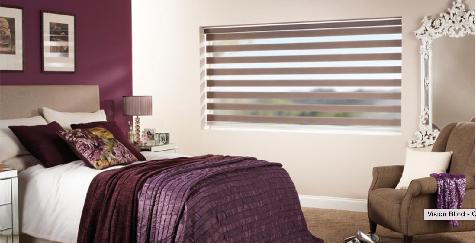 Rolgordijnen Slaapkamer 73 : Duorolgordijn in slaapkamer verkrijgbaar bij rolgordijnwinkel