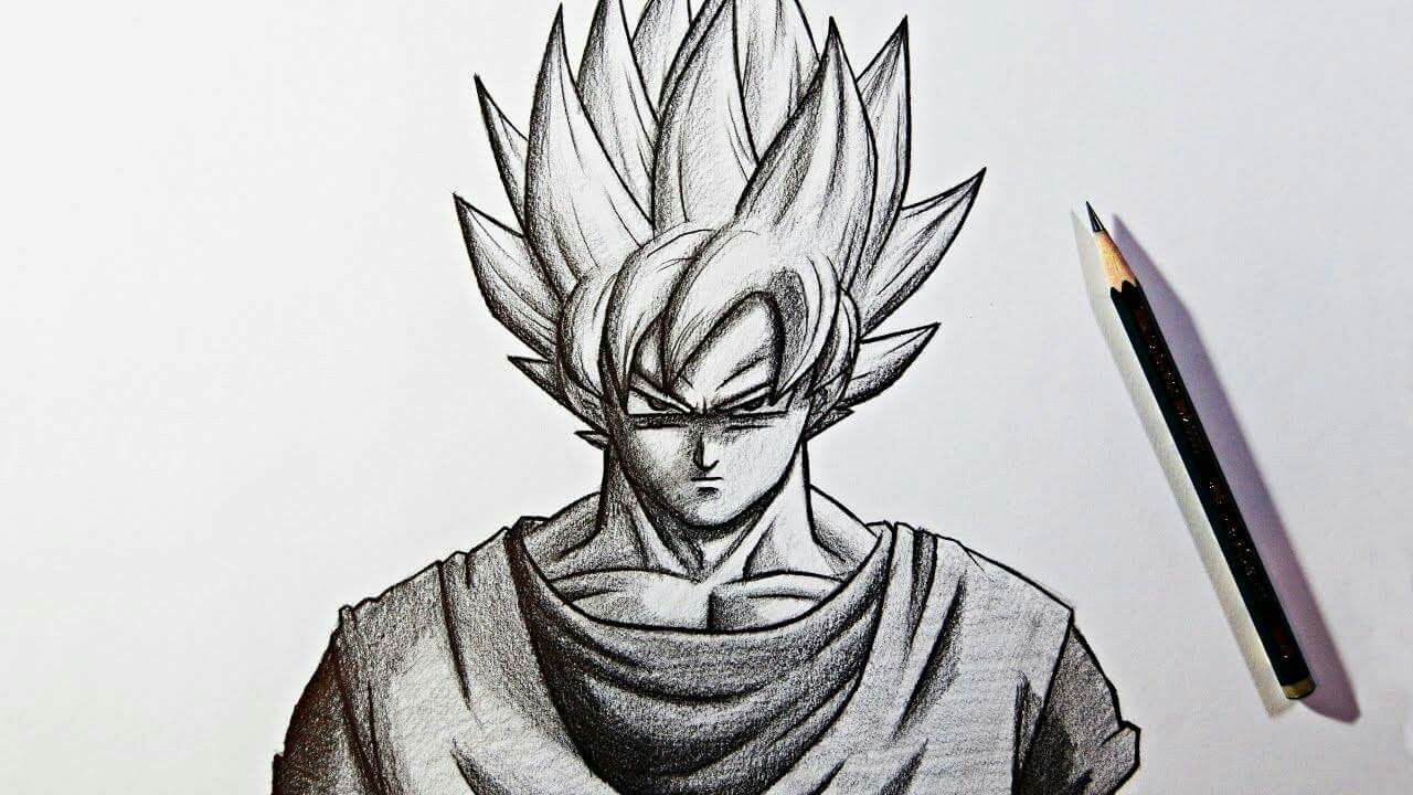 Son Goku Pencil Drawings Pencil Drawing Images Pencil