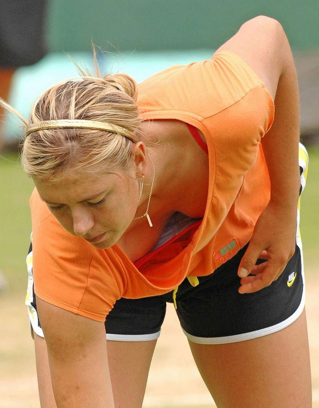 Maria Sharapova Nipple Slips Maria Sharapova Nipple Slips And Downblouse On Court Paparazzi