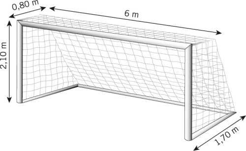 Soccer Goal Dimensions Soccer Goal Soccer Goals