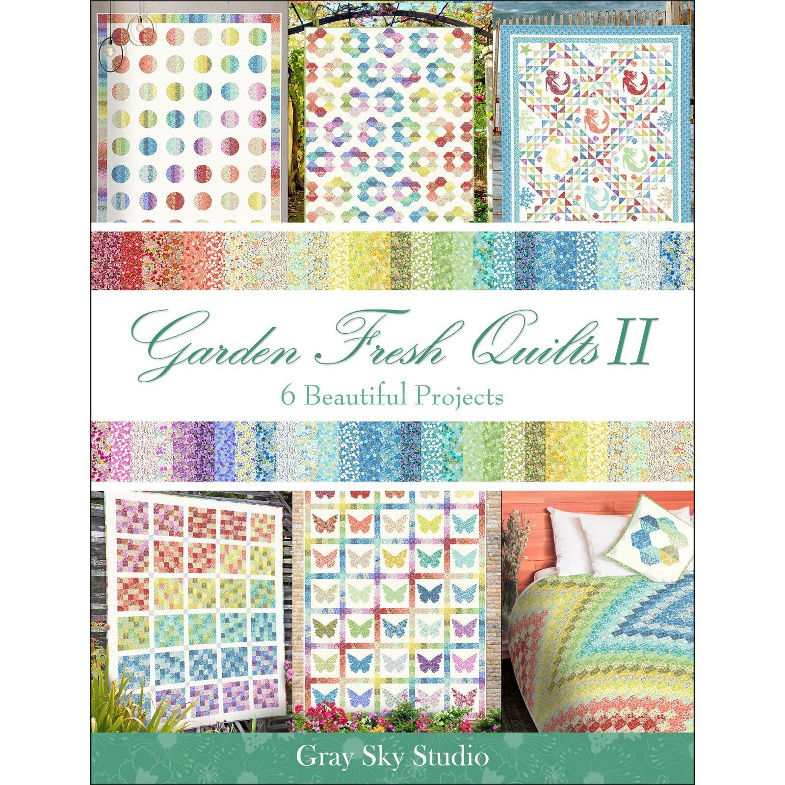 Garden Delights II Fabric Collection by Jason Yenter In the