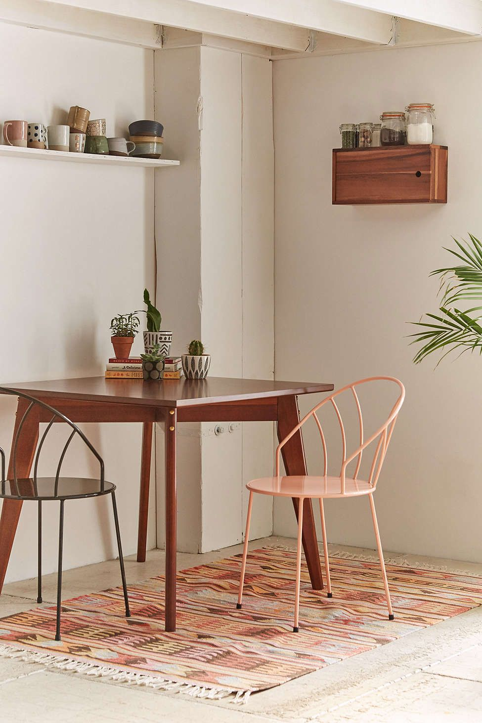 Tinka Mid Century Modern Dining Table Urban Outfitters