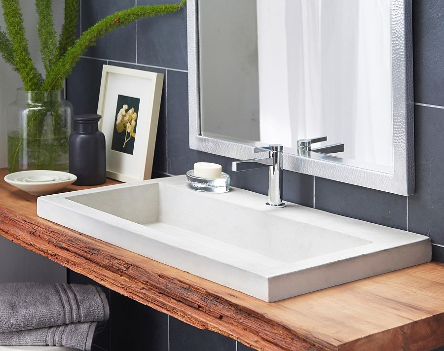 Bon Eco Conscious, Artisan Crafted Sinks Sparkle With Contemporary Class