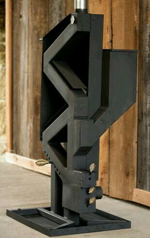 Super Cool Modern Pellet Stove No Electric Or Gas