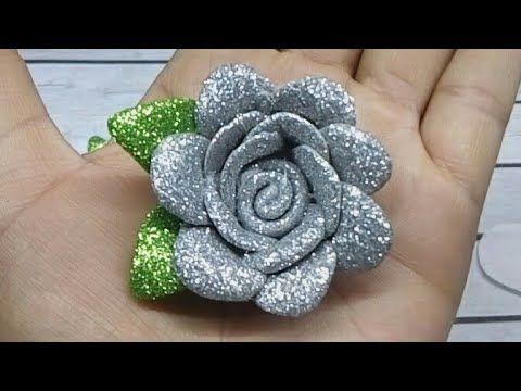 Flores De Fomi Faciles De Hacer Tiaras Para Recien Nacida