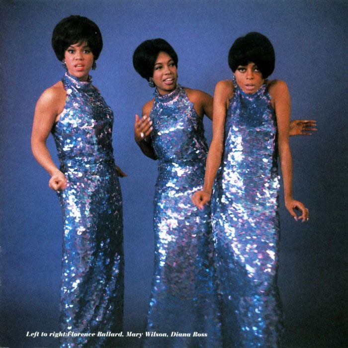 The Supremes. Blue.