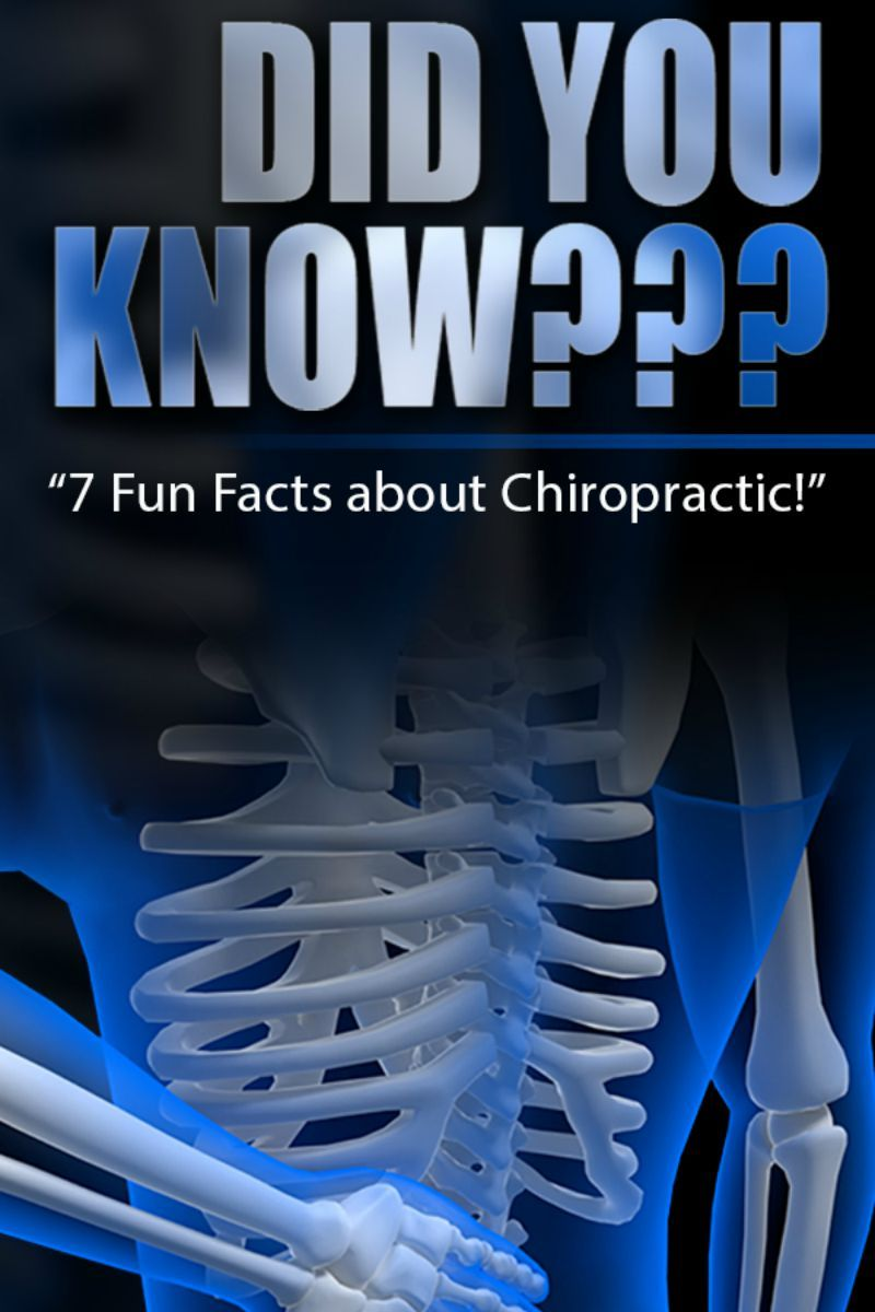 Did you know almost everyone can benefit from chiropractic