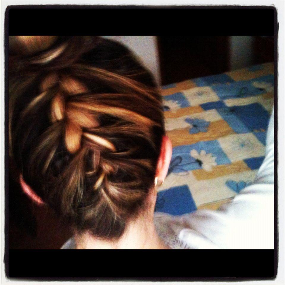 My inverse braid monycmoon hair and makeup pinterest hair