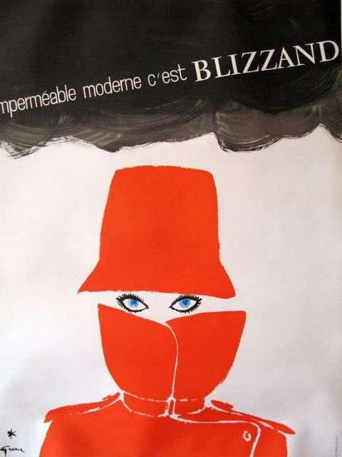 Impermeable Moderne Blizzand 1964